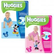 Подгузники Huggies Ultra Comfort 10-16 кг, 17 шт