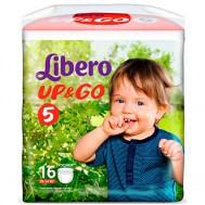Подгузники Libero, UpGo, L, 16шт