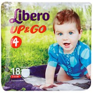 Трусики-подгузники Libero Up&Go 7-11 кг (M), 18 шт