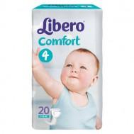 Подгузники Libero Comfort 7-14 кг (M), 20 шт