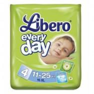 Подгузники Libero EveryDay 11-25 кг, 16 шт