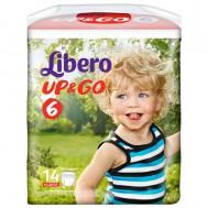 Трусики-подгузники Libero Up&Go 13-20 кг (XL), 14 шт