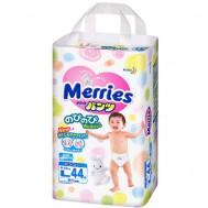 Трусики-подгузники Merries 9-14 кг (L), 44 шт