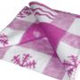Детское байковое одеяло 140х100 см (рисунок с 2 сторон)