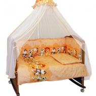 """Комплект в кроватку """"Африка"""" персиковый"""